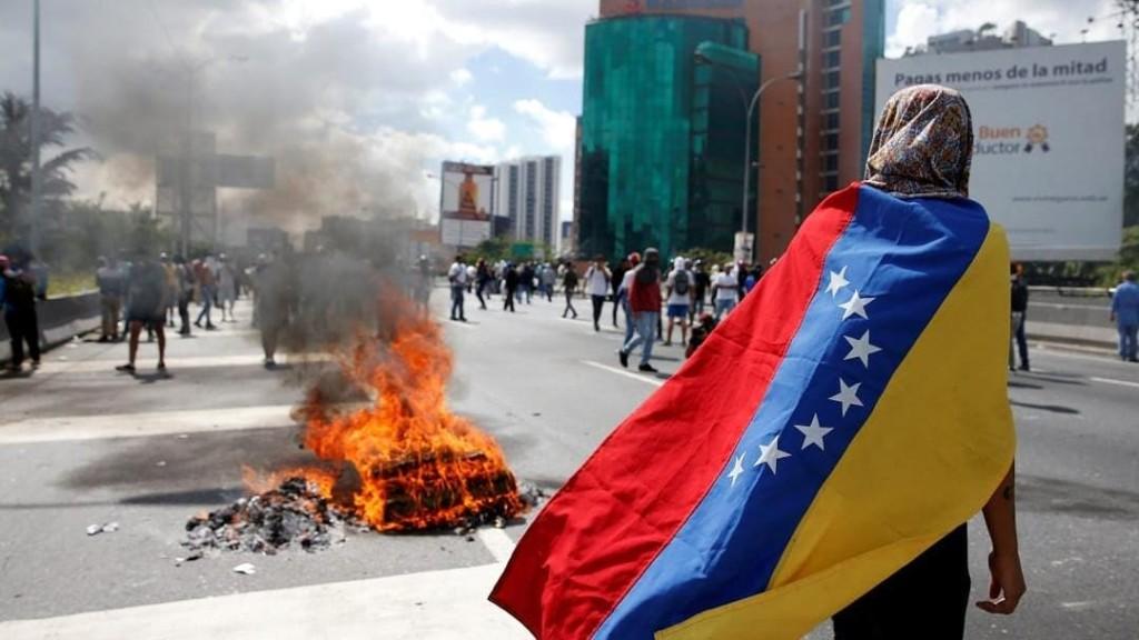 Vége a rumbának, irány a tüntetés -  Kép forrása: crisisgroup.org