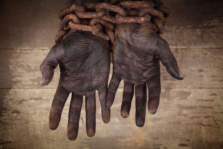 A rabszolga-kereskedelem - kép forrása: thoughtco.com